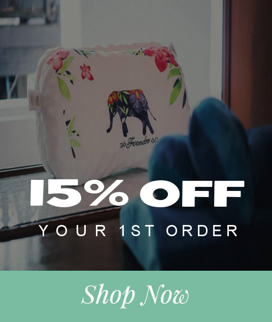 Get 15% Off your first order on natural latex pillows and mattresses
